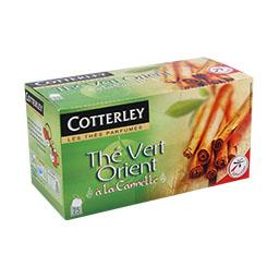 Chá verde oriente 25 saquetas