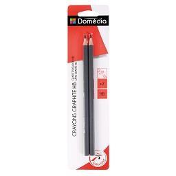2 lápis hb.