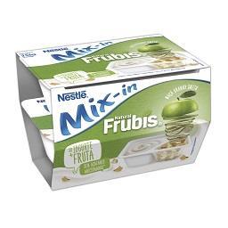 Iogurte Mix-In Frubis maçã verde