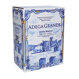 Vinho de mesa branco bag in box
