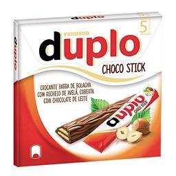 5 barritas de chocolate duplo