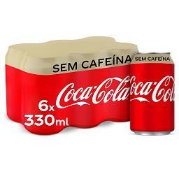 Refrigerante c/ gás s/ cafeína