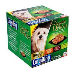 Alimento húmido para cão sénior
