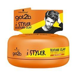 Argila cabelo textura styler