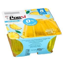 Gelatina ananás 8 kcal