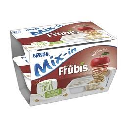 Iogurte Mix-In Frubis maçã vermelha