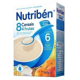 Farinha láctea 8 cereais e 4 frutas