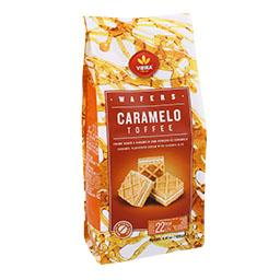 Wafers caramelo cubos