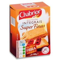 Mini tostas super finas integral