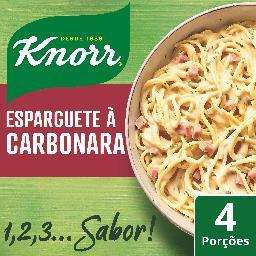 Temperos 123 esparguete carbonara