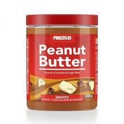 White chocolate and raisins peanut butter 250 g crem...