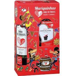 Ginga de Óbidos + 12 copos de chocolate
