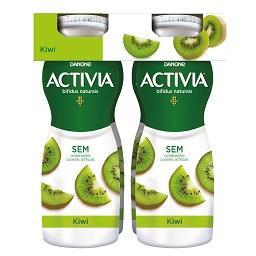 Iogurte activia líquido kiwi
