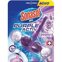Bloco Sanitário Purple Activ Lavanda