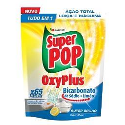 Detergente pastilhas p/ Máquina Loiça Oxyplus Bicarb...