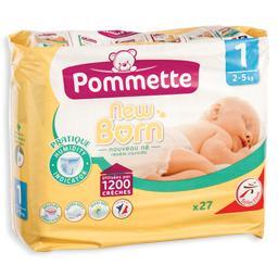 Fraldas para bebé, recém nascido, tamanho 1, 2-5 kil...