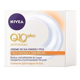 Creme Rosto Antirrugas Dia Q10 Plus Energy