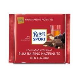 Chocolate c/ Rum e Passas