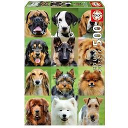 Puzzle Cães