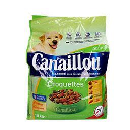 Alimento seco para cão, atividade normal