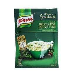 Sopa de bróculos/couve flor